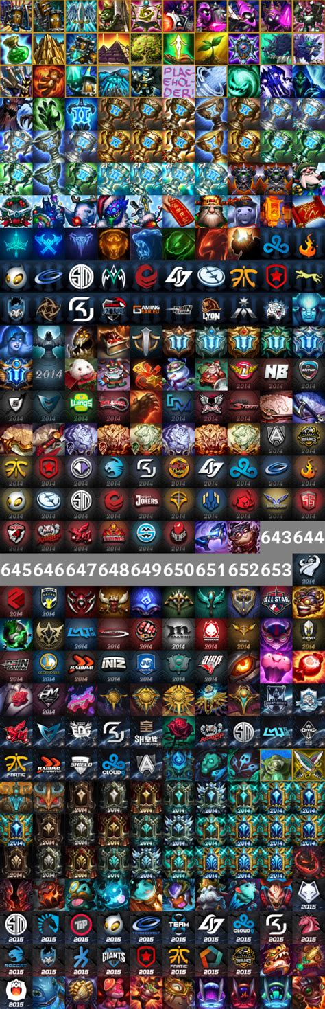 League Of Legends Icons Leagueoflegends
