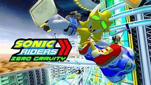 Sonic Riders Zero Gravity - Crimson Crater - Super Sonic ...
