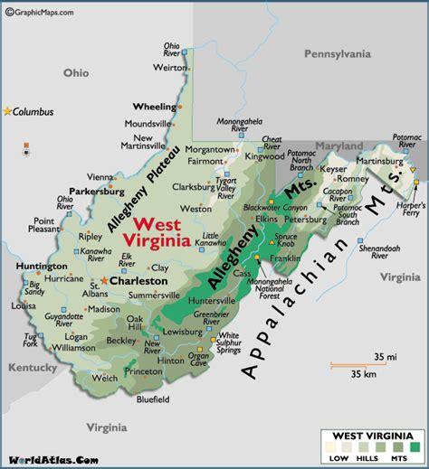Martinsburg West Virginia Map
