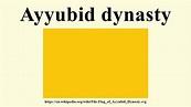 Ayyubid dynasty - YouTube