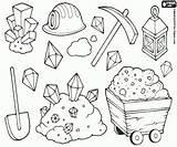 Colorare Colorear Colorir Disegni Minero Sobre Mijnwerker Mijn Minerali Mineiro Kleurplaat Desenhos Coloring Dibujos Stampare Minatore Mineria Coleccion Mijnbouw Collectie sketch template