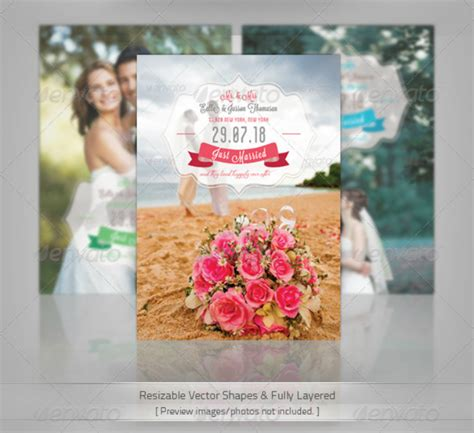 psd wedding announcement templates editable psd ai
