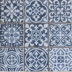 Carrelage Ciment Ancien Castorama by Carreaux En Patchwork Et Trompe L œil