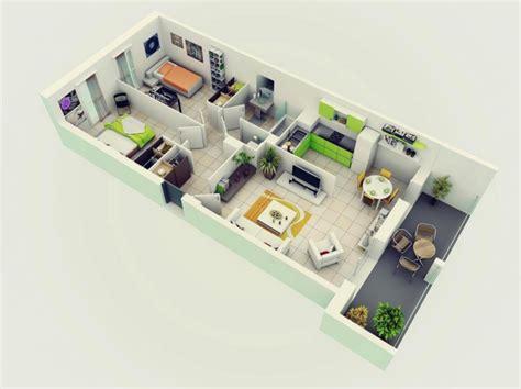 25 More 2 Bedroom 3d Floor Plans by 25 More 2 Bedroom 3d Floor Plans Interior Design Home
