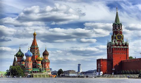 Russian Capitals And Golden Ring