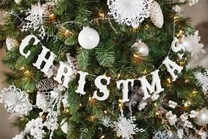How, To, Make, A, Christmas, Tree, Garland, Craft, Tutorial
