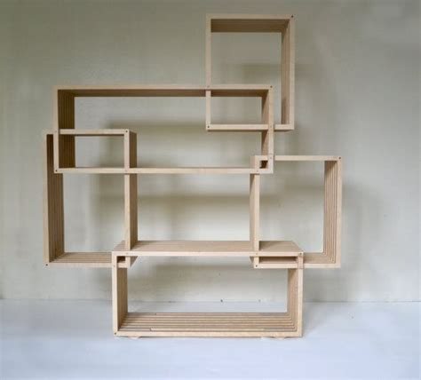 Plywood Bookcase by Plywood Routed Bookcase By Cncfurniture On Etsy 1200 00