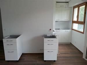 Refrigerateur Sous Plan De Travail : photos des travaux de mon studio ~ Farleysfitness.com Idées de Décoration