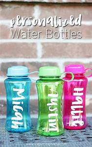 how to use transfer paper with vinyl the pinning mama With how to make personalized water bottles