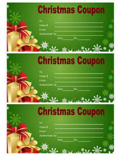 printable christmas coupons hloom