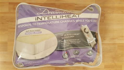 Electric Blanket Dreamland Intelliheat Mattress Protector Double Dual Control For Sale In Knit Basketweave Baby Blanket Pattern Sunbeam Waterproof King Single Electric Bl5231 Crochet Patterns Red Heart How To Make A With Ties On The End Are Blankets Good For Your Health No Sew Fleece Instructions Twin Size Personalized Wedding Gift Chunky Yarn