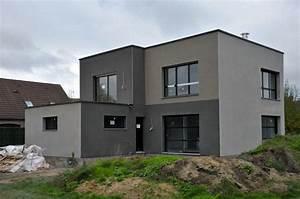 couleurs facades gris maison recherche google enduits With marvelous couleur facade maison moderne 10 ravalement de facades