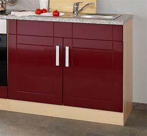 Küche Rot Hochglanz : k chenzeile varel k chen leerblock breite 270 cm hochglanz bordeaux rot k che k chenzeilen ~ Yasmunasinghe.com Haus und Dekorationen