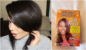 Silk Press Natural Hair Smooth Argan