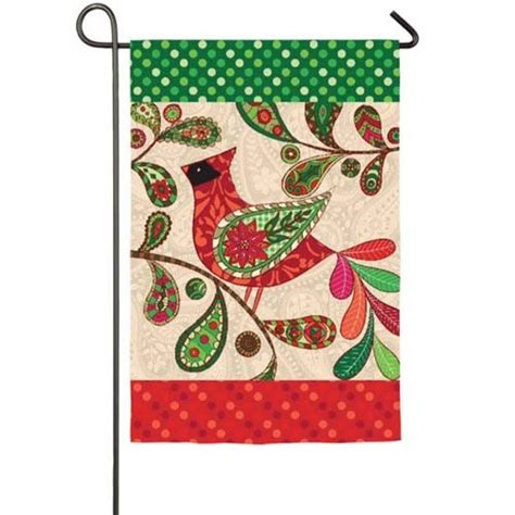 seasonal garden flags cardinal garden flag winter garden flags