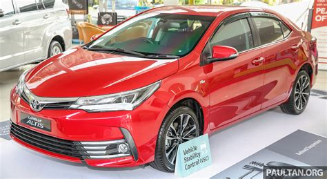 Toyota Corolla Altis Picture by Toyota Corolla Altis Facelift Now On Sale From Rm121k