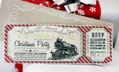 polar express christmas collection red