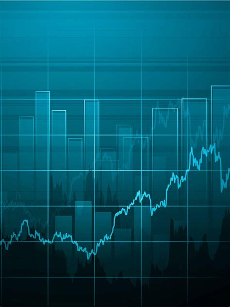 stock market wallpaper trading chart