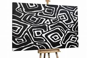 Kunst Schwarz Weiß : abstraktes gem lde in schwarz wei kaufen kunstloft kunstloft ~ A.2002-acura-tl-radio.info Haus und Dekorationen