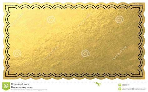 Blank Golden Ticket Template by Golden Ticket Stock Illustration Illustration Of Glossy