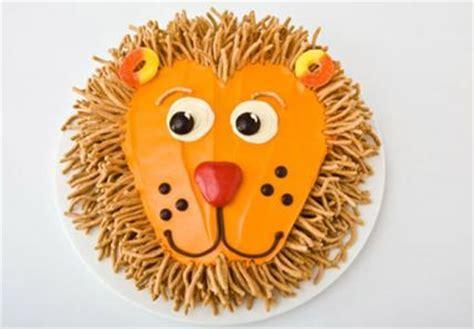 lion birthday cake design parenting