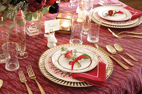 The Perfect Christmas Table Setting-how To Decorate