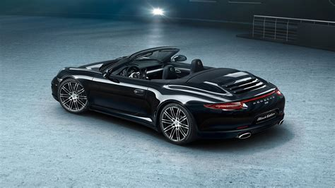 porsche 911 convertible black here 39 s your gallery of porsche 39 s new 911 and boxster black