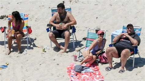 Sand Beach Chair by Chris Christie Cameras Catch Nj Gov Lounging On Closed