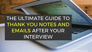 Thank You Notes Job Interview Best Sample Thank You Emails After An Interview 3
