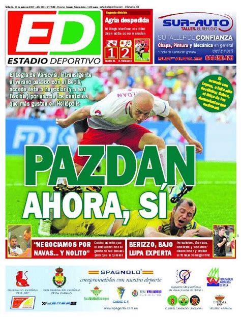 Las portadas del sábado 10 de junio - estadiodeportivo.com