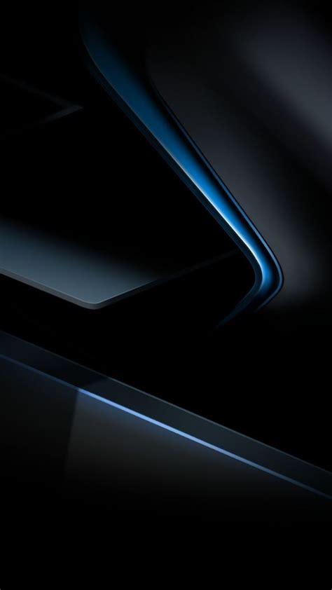 blue  black geometeic wallpaper abstract
