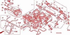 Throttle Body For Honda Vfr 1200 Dct 2011   Honda