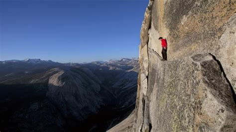 Live Free Soloing With Alex Honnold