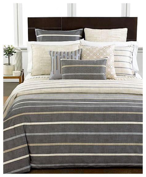 Macy Kitchen Table Sets by Hotel Collection Modern Colonnade Duvet Cover