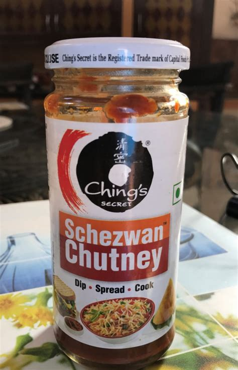 product review chings secret schezwan chutney
