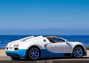 Blanc Bleu Automobiles : bugatti veyron grand sport vitesse blanc bleu 3 4 arri re droit 2 bugatti photos gt les ~ Gottalentnigeria.com Avis de Voitures