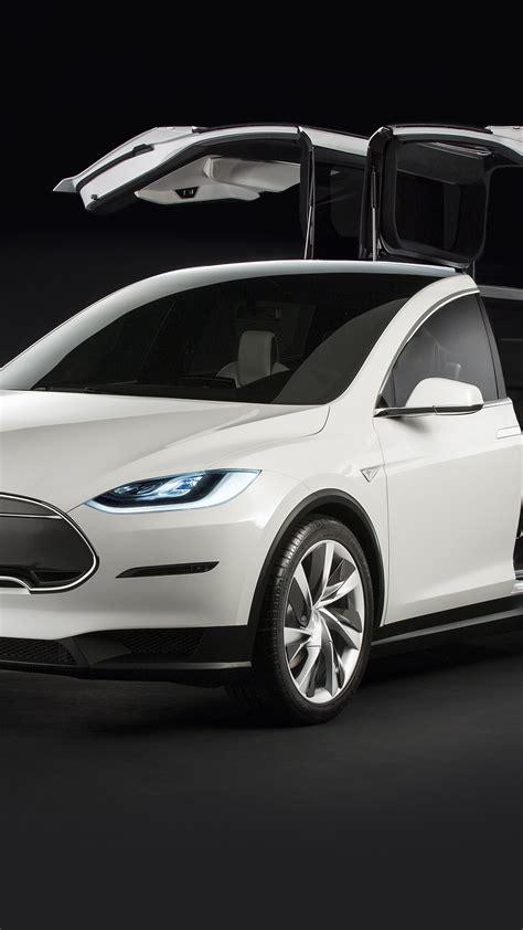 wallpaper tesla model  white electric cars suv
