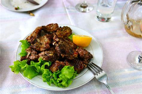 Merlin And Rebecca Albanian Food