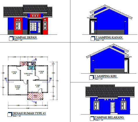 Judul Gambar Rumah Minimalis Satu Lantai Tampak Depan Dugwall