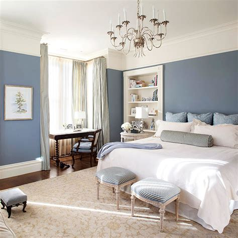 Bedroom Blue Walls White Furniture by Give Your Bedroom A Design Makeover For A Better S