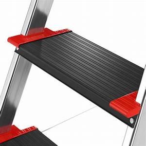 Hailo Leiter 8 Stufen : hailo 8896 001 alu sicherheits haushaltsleiter championsline 225 kg 6 xxl stufen mit ~ Buech-reservation.com Haus und Dekorationen