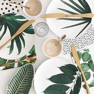 Tisch Und Teller : diy tisch deko teller und gl ser selber bemalen diy tisch tisch und deko ~ Watch28wear.com Haus und Dekorationen