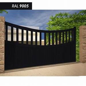 Portail 3 50m : portails coulissants comparez les prix pour ~ Premium-room.com Idées de Décoration