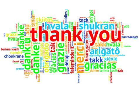 Englisch Dankt Ihnen, Offener Wort-wolke, Dank, Auf Weiß Stock Abbildung
