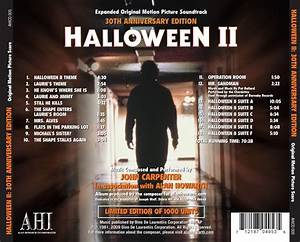 Free Fax Sheet Halloween 2 Expanded Edition Original Soundtrack