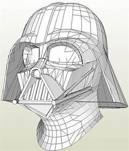 Darth Vader Helmet Drawing At Getdrawingscom Free For
