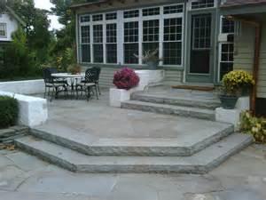 Paver Patio Steps Designs