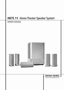 Harman Kardon Hkts 11 Users Manual 19223 Hkts11 English