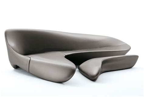 canapé home center moon system by zaha hadid b b italia wood furniture biz