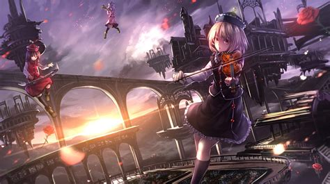 Violin Wallpaper Anime - anime violin sunset beautiful wallpaper